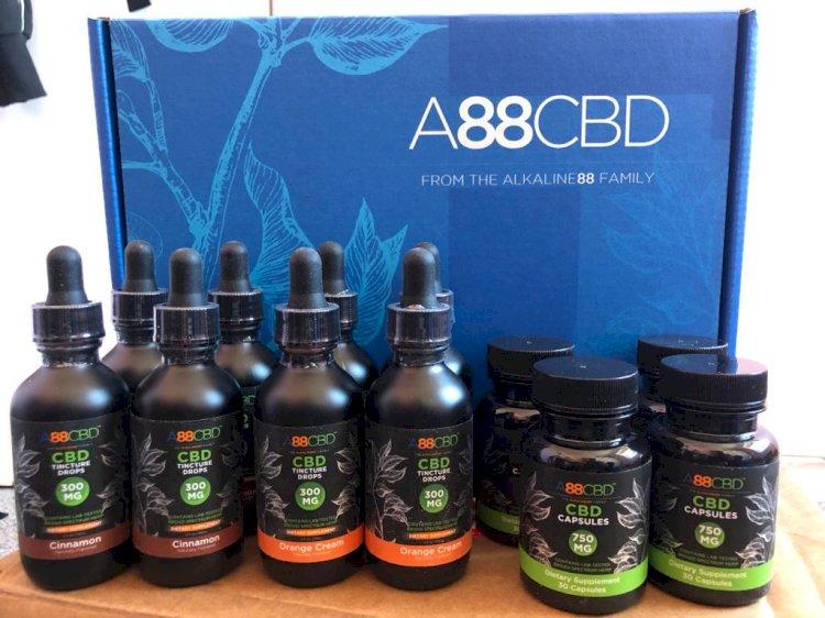 A88CBD Review – CBD Oil Tinctures, CBD Capsules And CBD Salves And Lotions