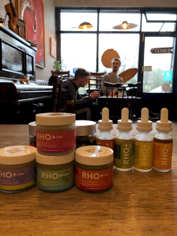 RHO+ CBD Pain Creams