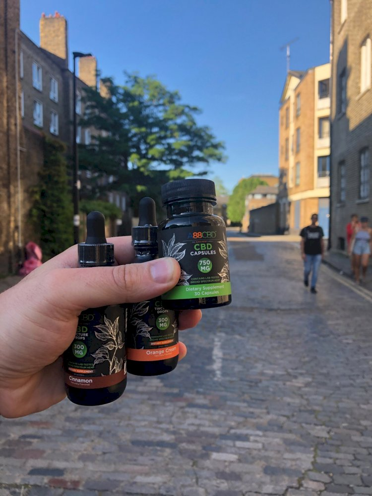 A88CBD Review – CBD Oil Tinctures, CBD Capsules And CBD Salves And Lotions