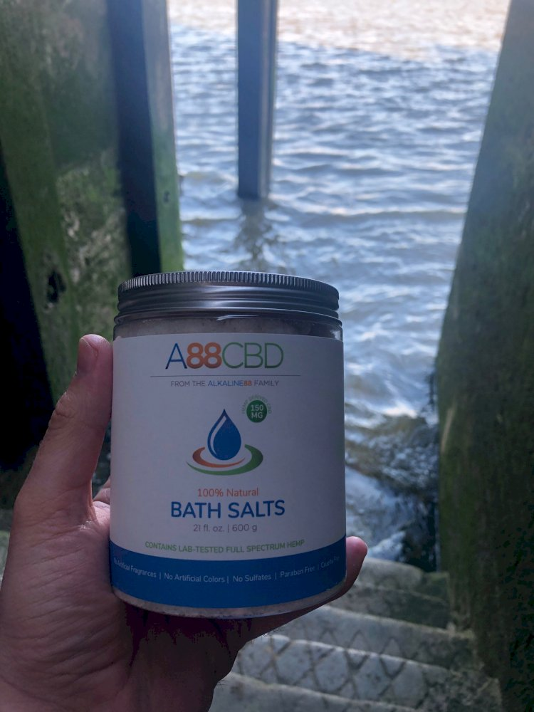 A88CBD CBD-Infused Bath Salts